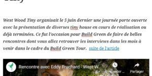 West Wood Tiny présentation Build Freen Tour